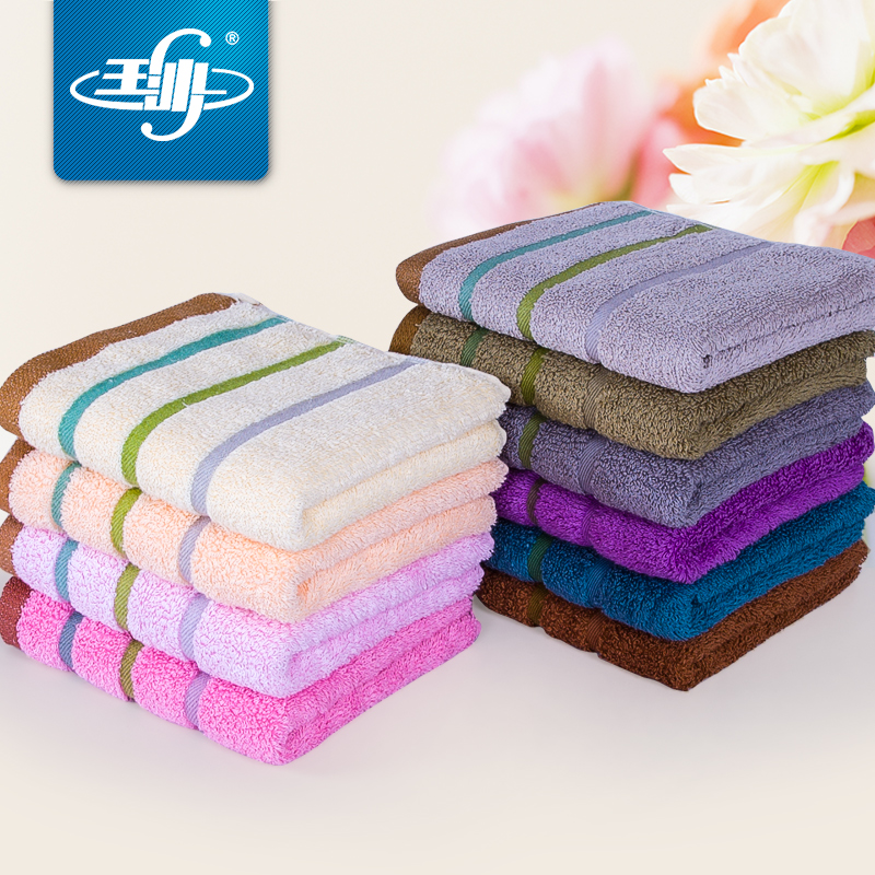 [Three] installed yusha efficient absorbent towel dry hair towel wash towel cotton towel couple models cotton towel big towel