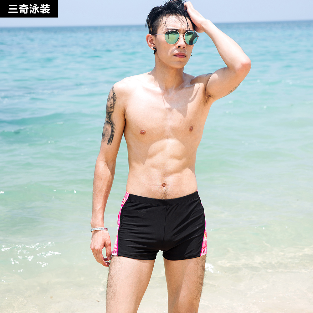 090620310c Get Quotations · Three odd 2016 new fashion loose big yards sexy low waist boxer  swim trunks swimming trunks