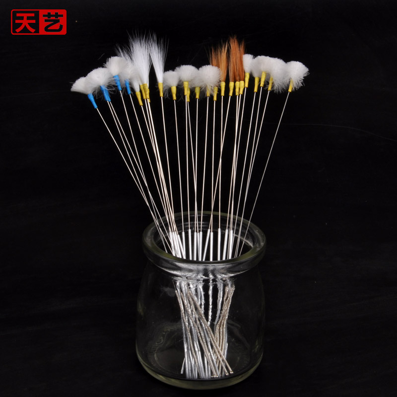 Tian yi reinforcement crane hair stick needles goose feather stick dig ershao ear mining tools sweep to fight ear scratching耳刷