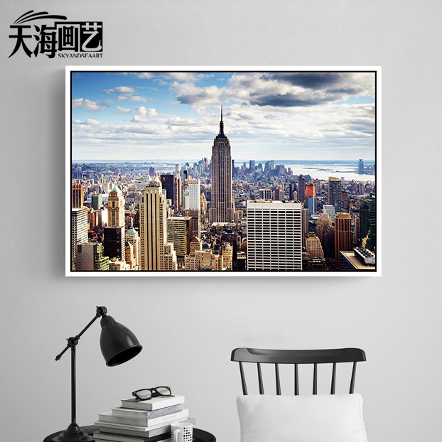 Tianhai painting sharply new york modern paintings decorative painting the living room sofa wall mural painted bedroom dining room den