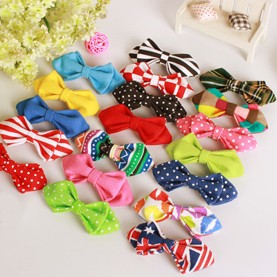 Time ticking children show performances bow tie korean version of the boys and girls baby accessories baby accessories