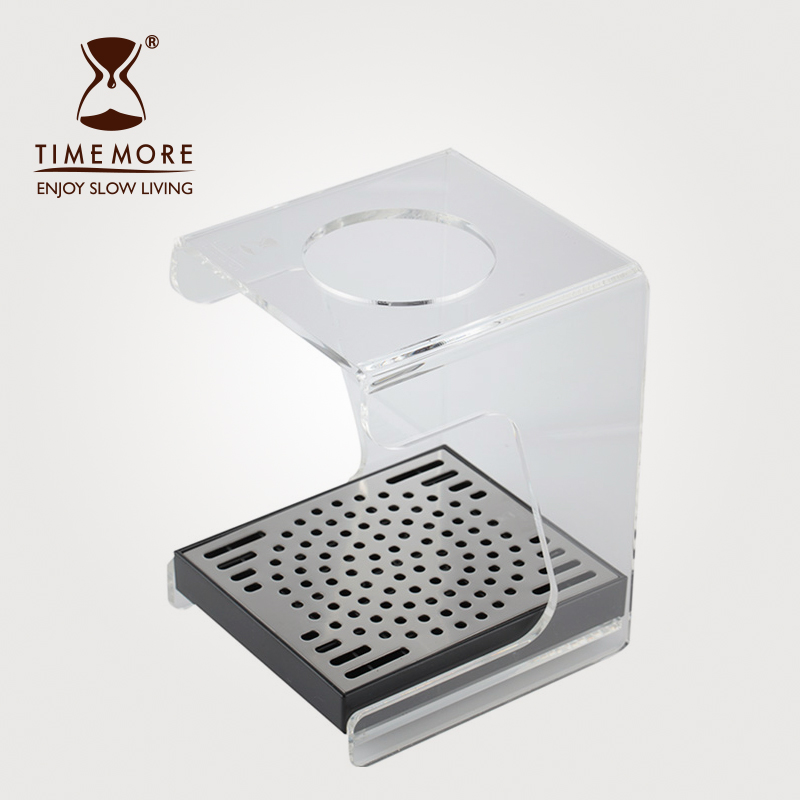 Timemore taymor acrylic hand punch trickling filter coffee maker dedicated frame attached drip tray