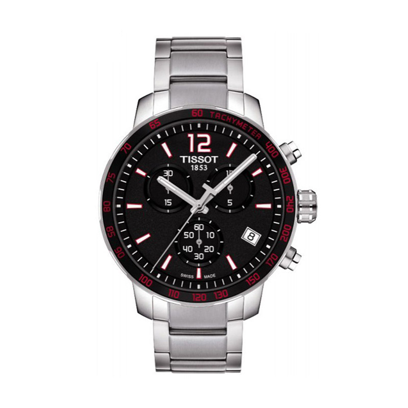 Tissot tissot T095.417.11.057.00 t-sport series steel quartz watch men watch