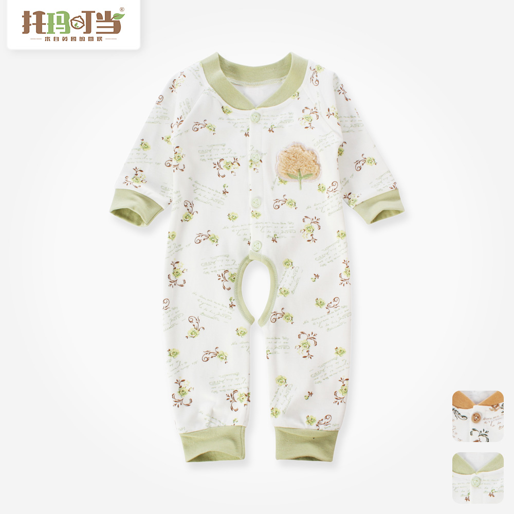 Tomah tinkled 2016 new baby clothes baby coveralls summer romper jumpsuit climbing clothes for boys and girls