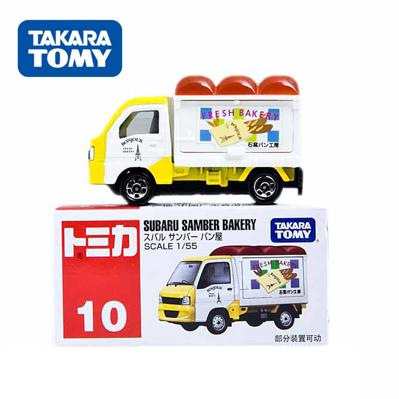 Tomy dhoby card alloy car models truck vans 10 no. 764090 car model children's educational play aids
