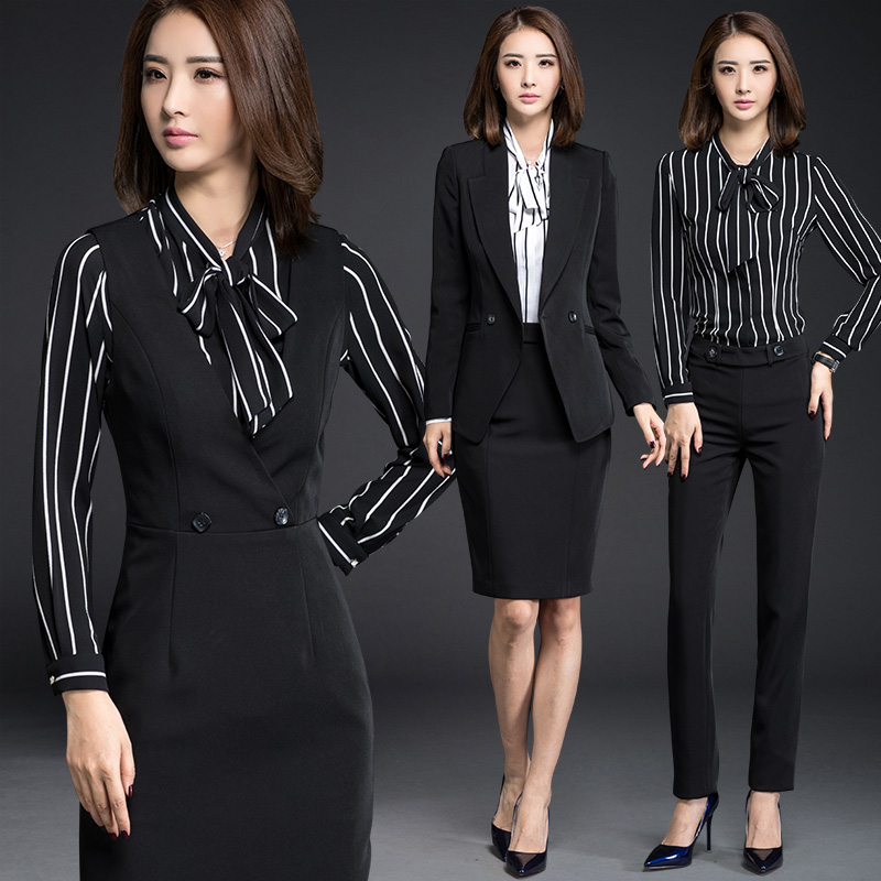 f50c8413ac5 Get Quotations · Tone shuya fall and winter wear women s suit western  clothes suit long sleeve slim female dress