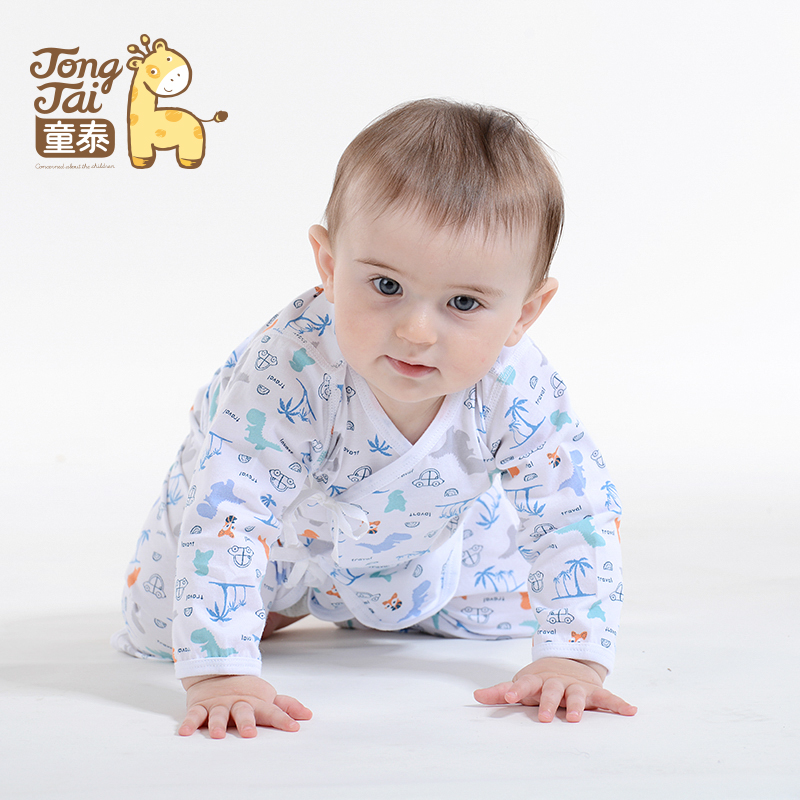 Tong thai 16 new newborn baby clothes baby underwear sets for men and women 0--3 months baby spring and summer cotton kimono