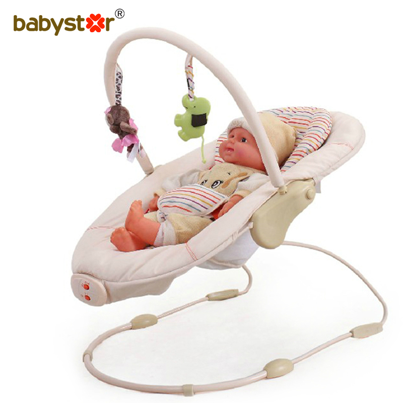 Tony star baby electric rocking chair baby rocking bassinets basket rocking chair multifunction baby rocking recliner with music toys