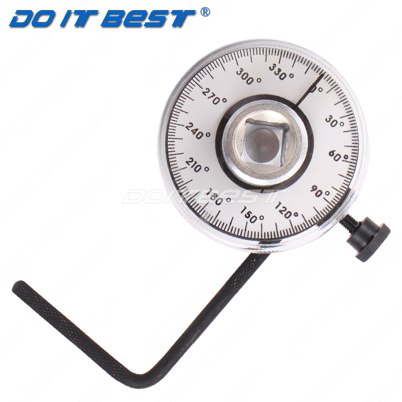 Tools torque angle gauge torque wrench 1/2 inch 360 degrees kg wrench torque angle meter