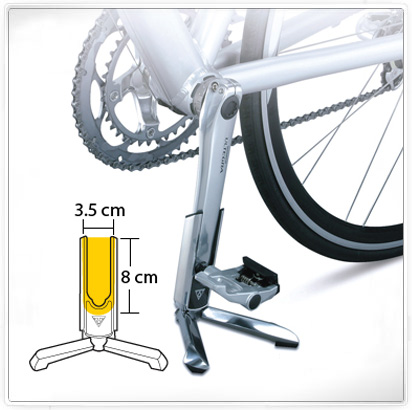 Topeak road bike parking racks mini bike road bike leg brace parking stand tw011