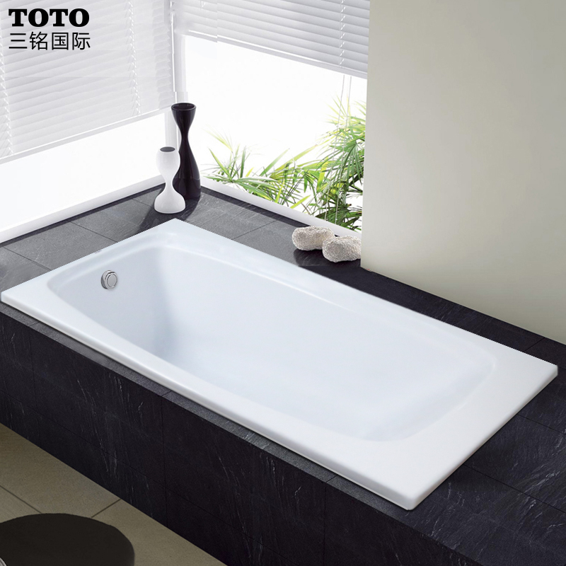 Toto PAY1596P embedded acrylic bathtub pay1510p deep type skid bottom slip to be ordered