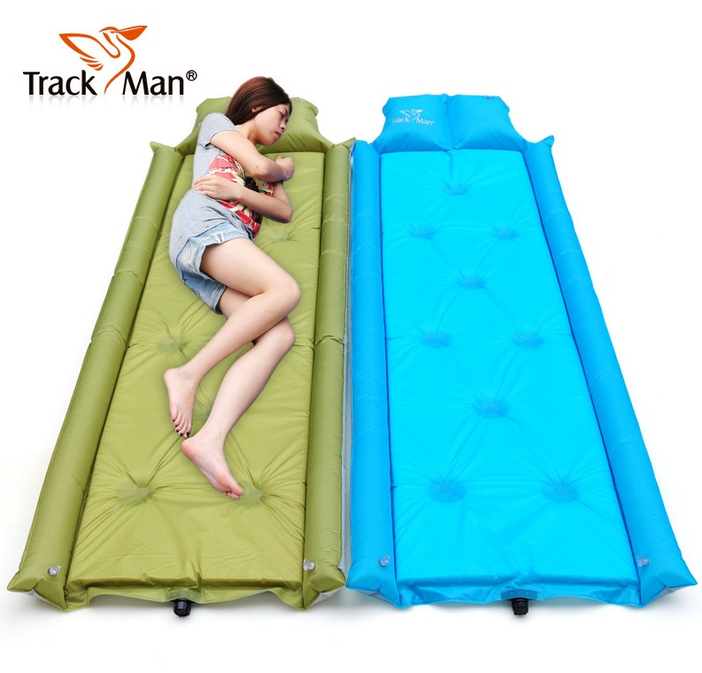 Trackman ziyou ren outdoor single men and women outdoor picnic mat moisture pad tent pad 2110