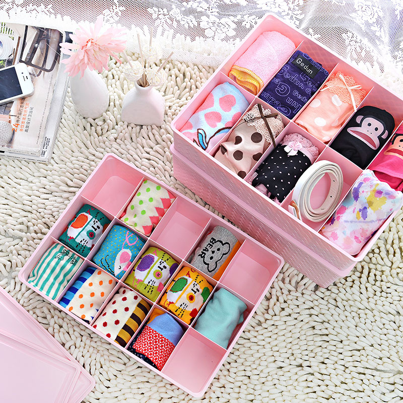 Traders beautiful imitation rattan storage box underwear bra underwear socks underwear sorting box storage box