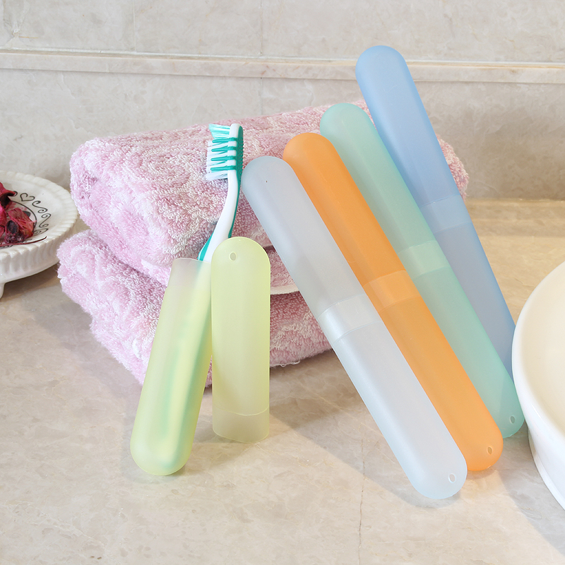 Traders beautiful portable storage box candy colored toothbrush put teeth with toothbrush box travel box finishing box