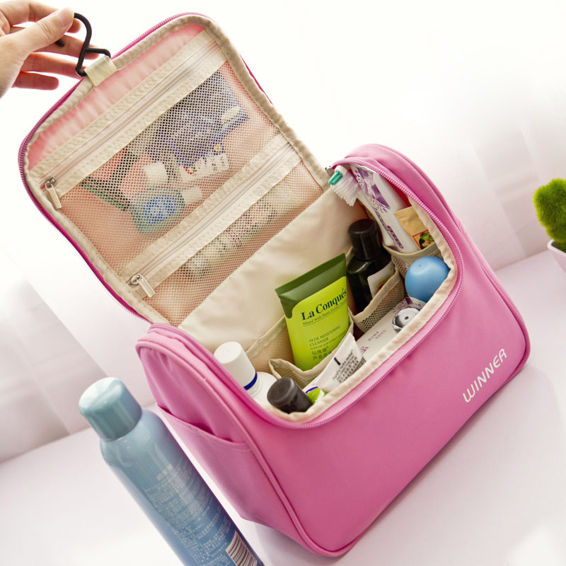 Travel portable travel waterproof storage bag wash bag lady female models cosmetic bag set of installed capacity travel supplies