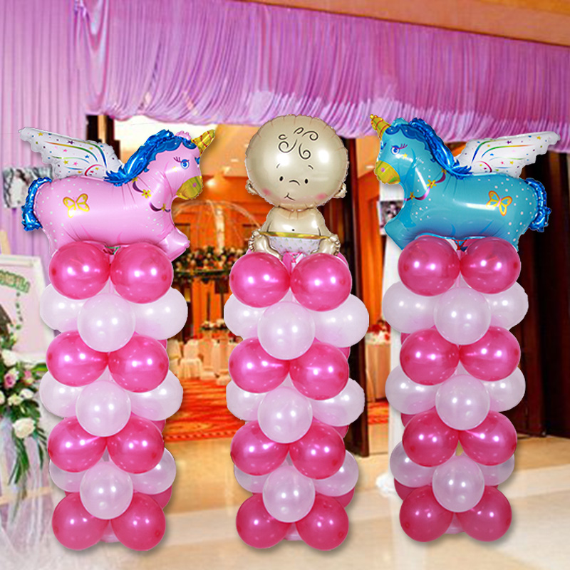 Tree road treasure wedding celebration supplies balloon column wedding wedding route guide to celebrate the opening of the code removable decorative studs