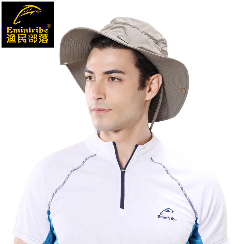 Tribal fisherman outdoor sun hat male and female models outdoor leisure travel beach hat cowboy hat fishing hat sugan
