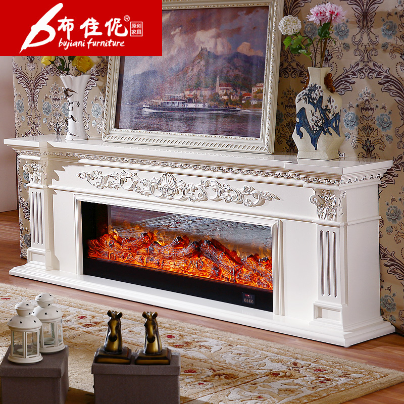 Trinity good cloth continental archaized white led 1.2 m decorative fireplace fireplace fire simulation decorative 328