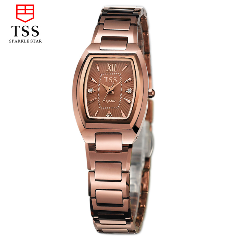 Tss days thinking female form tungsten steel quartz watch fashion ladies watches fashion watch wrist watch face waterproof watch companion