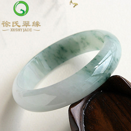 Tsui tsui edge jewelry natural burma jade a cargo 8mm mm natural jade ice waxy kinds of ice floating flower bracelets