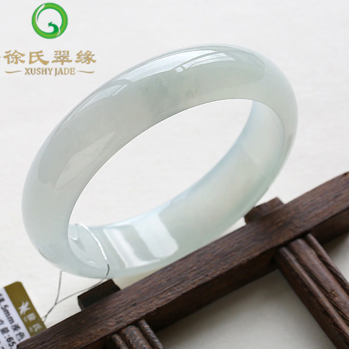 Tsui tsui edge jewelry natural burma jade a cargo of natural jade ice waxy kinds of jade bracelet bracelet 5mm mm