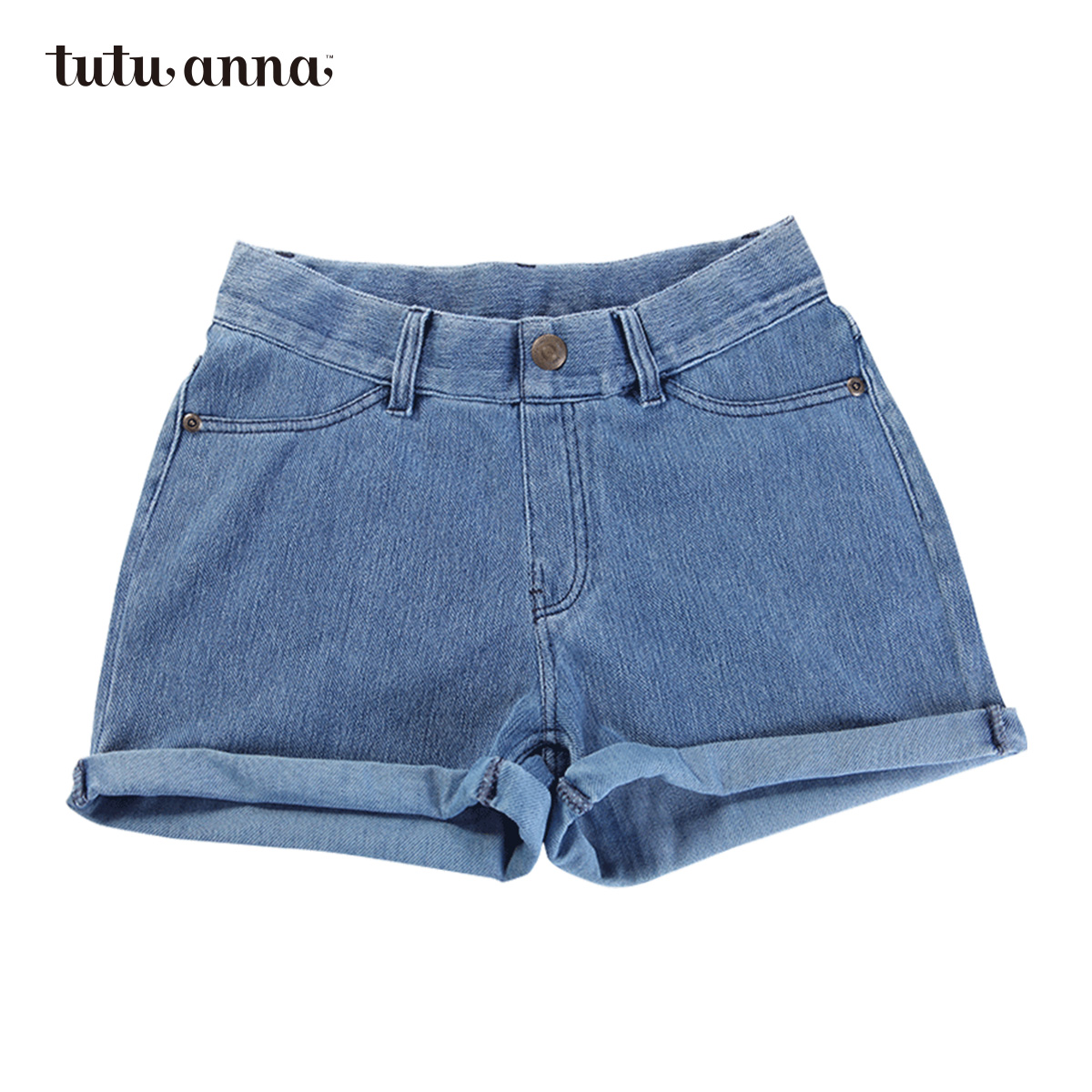 Tutuanna ms. xia jiqing new wild comfortable casual cotton denim shorts shorts