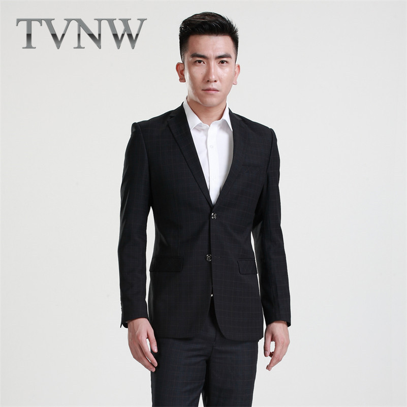 TVNW2016 gentry new england men's business suits slim suits men's suit business and leisure suits dress with disabilities 8001