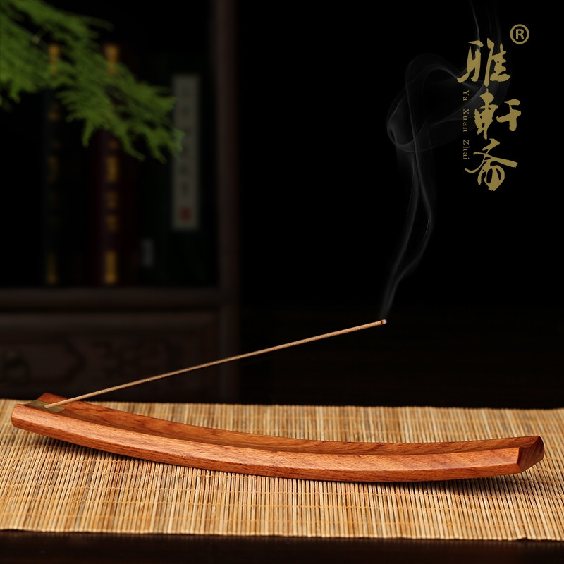 Tz fast mahogany wishful line inserted incense sandalwood incense holder incense incense box rosewood solid wood crafts