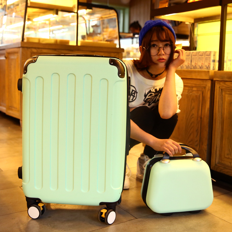 Uldum hard luggage trolley suitcase caster picture box suitcase 20 22 24 26 28 inch suitcase Influx of men