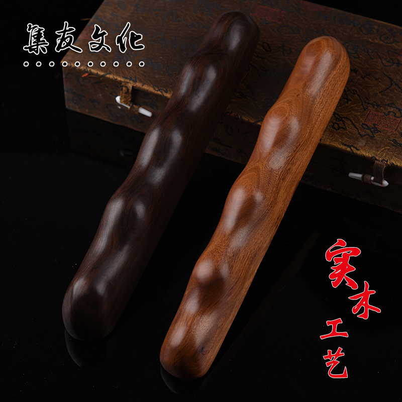 Upscale ebony mahogany wood with the shape of the pen resting penholder paperweight paperweight town feet of dual/red wooden pen resting/penholder gifts