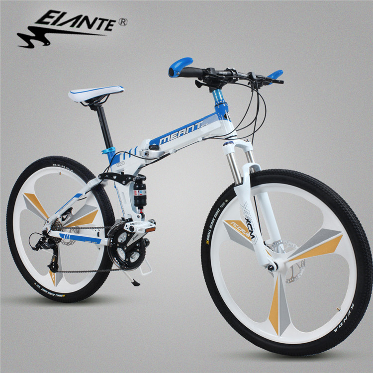 Us ante folding bike 21/24/27 speed aluminum one wheel folding bike bicycle adult students
