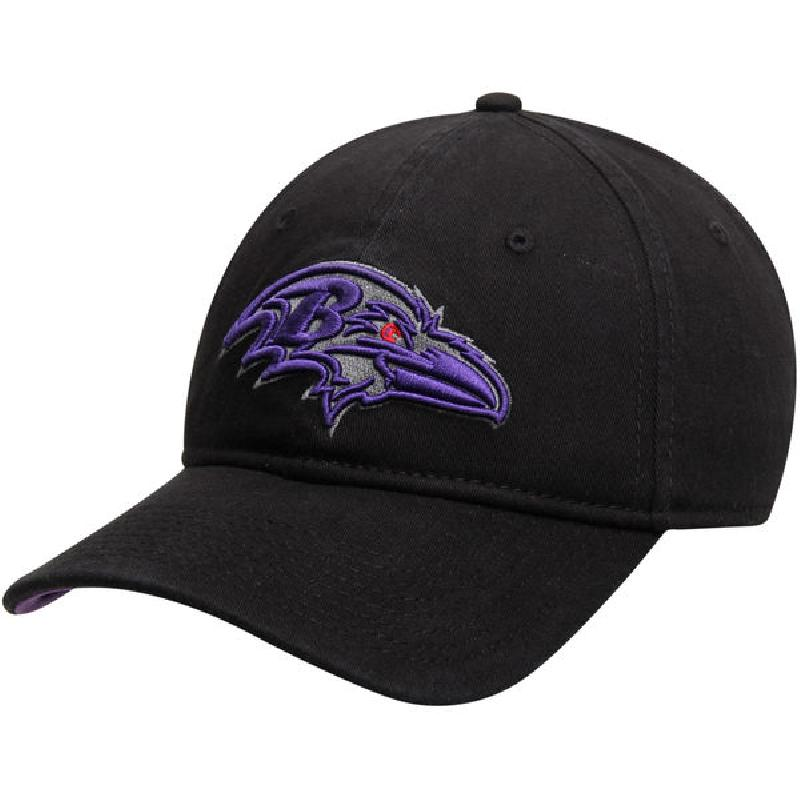 Us direct mail nfl baltimore ravens classic black baseball cap hat 2176760 new men
