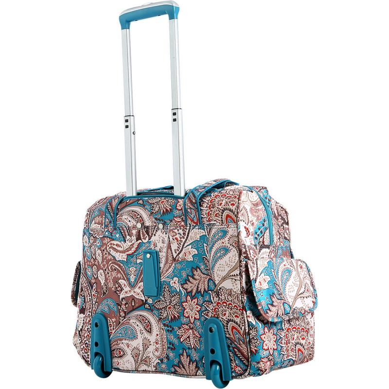 Us direct mail olympia CT39-275650 ms. printing large capacity bag fashion trolley suitcase