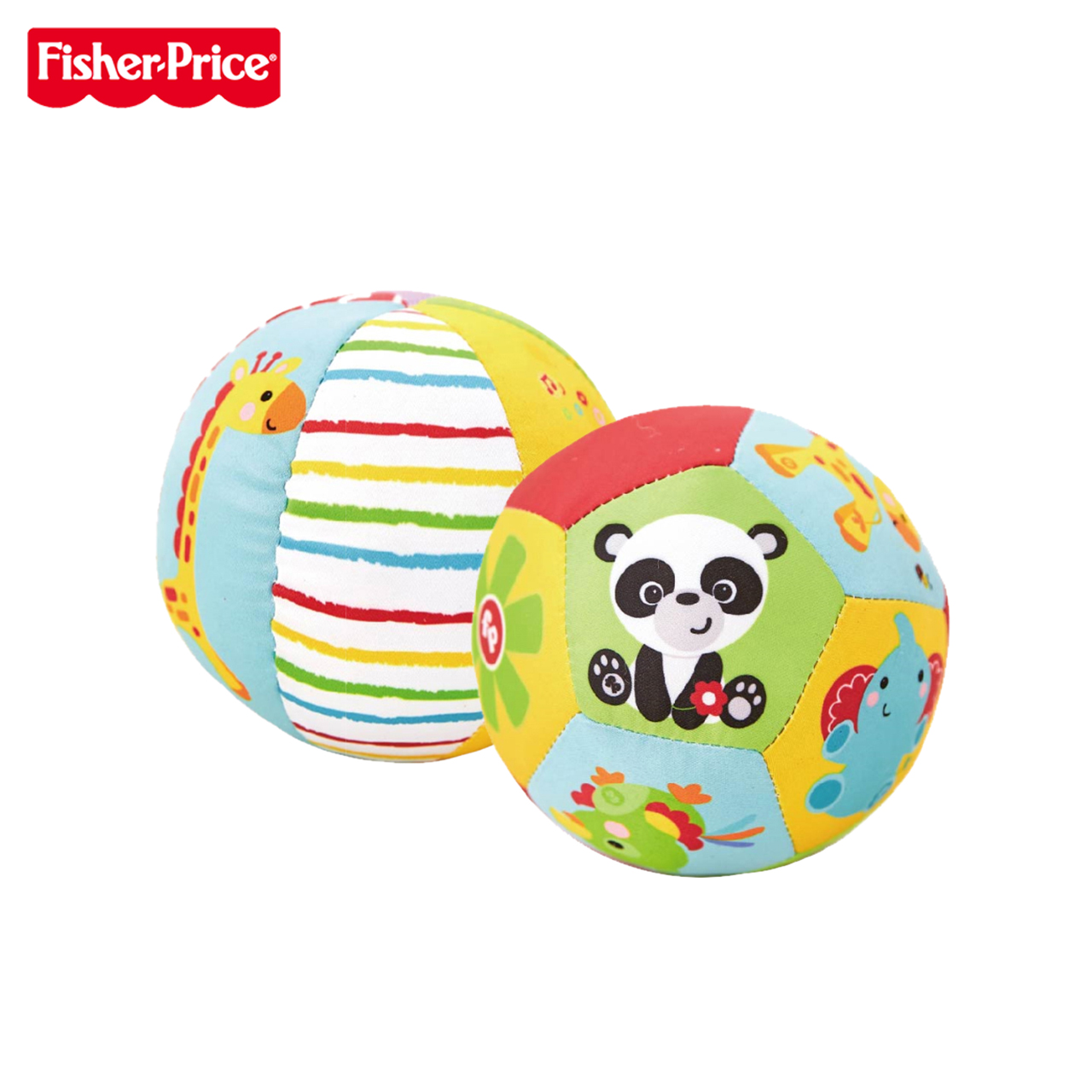 Us fisher animal cognition 4 inch ball ball infant grasping the ball rattles cloth ball toy ball bell ball baby