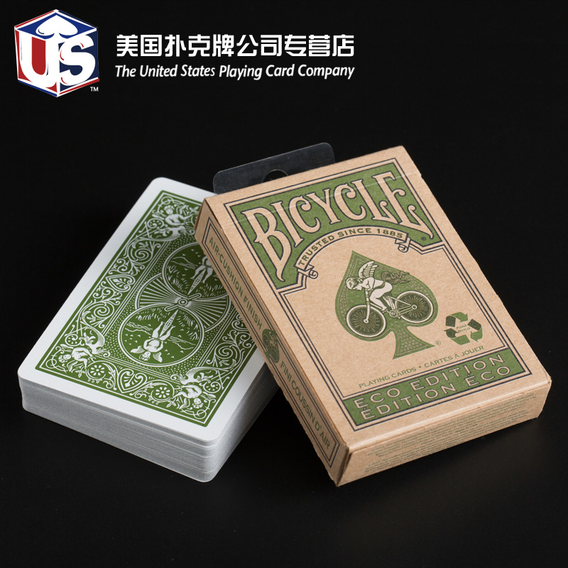 Buy Us imports of bicycle bicycle poker cards environmentally friendly recycled paper poker bicycle eco edition commemorative edition in Cheap Price on ...
