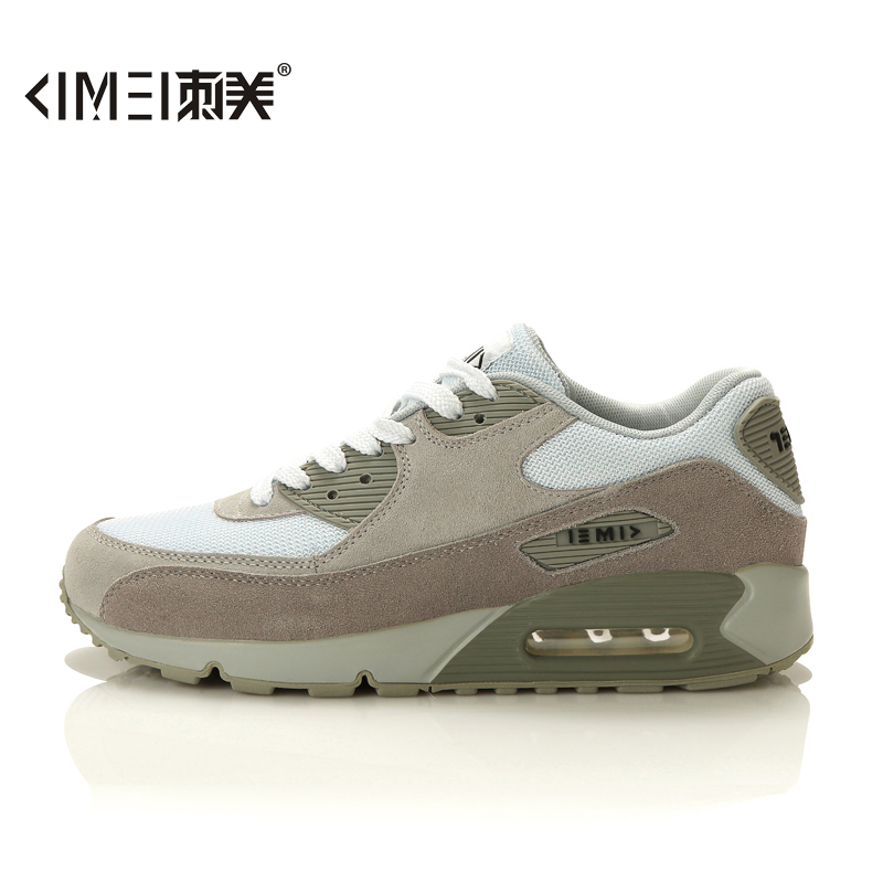 Us thorn spring breathable men's casual korean version of men's wear and sports shoes running shoes white mesh shoes max90