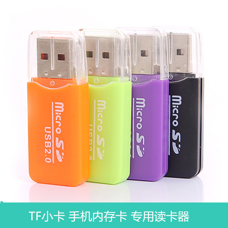 Usb mobile phone memory card phone card reader micro sd card reader tf card mini portable car stereo