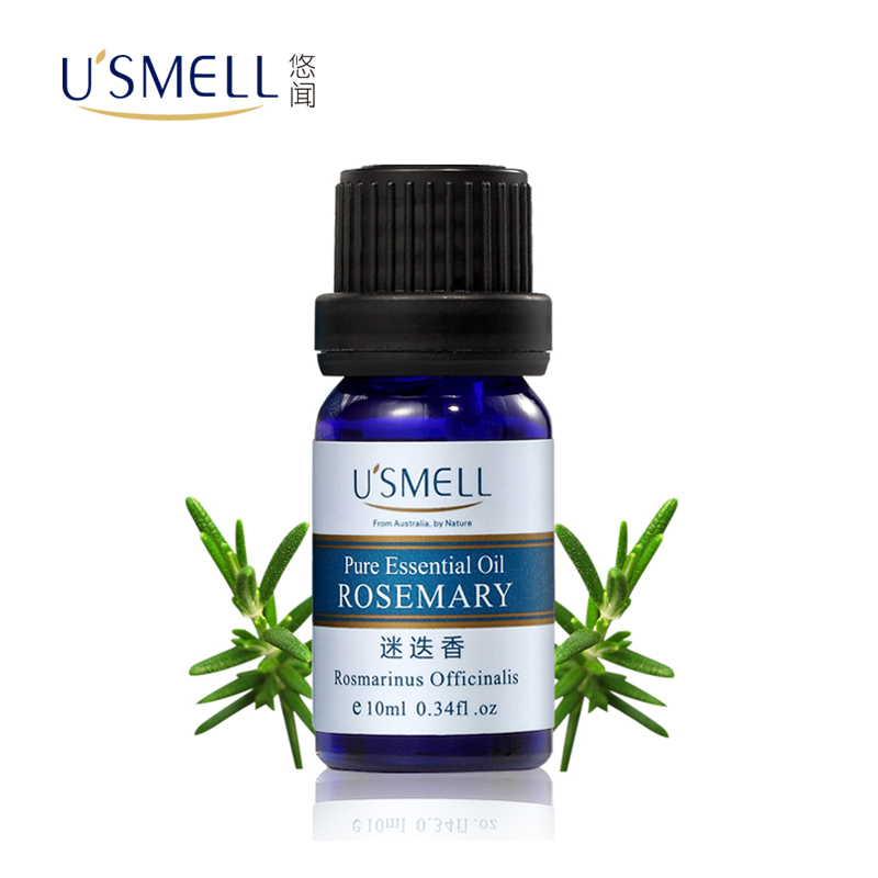 Usmell leisurely smell france rosemary essential oils 10 ml unilateral aromatherapy oil firm skin and hair care