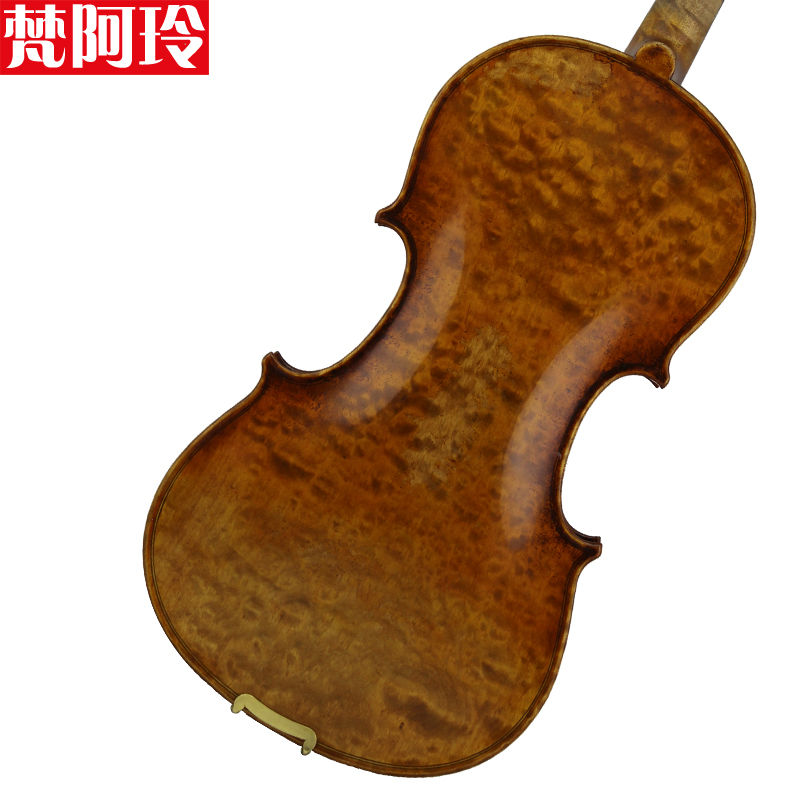 Vatican carole adams style solo violin imported materials and handmade models in europe alone board material professional level playing oily Paint