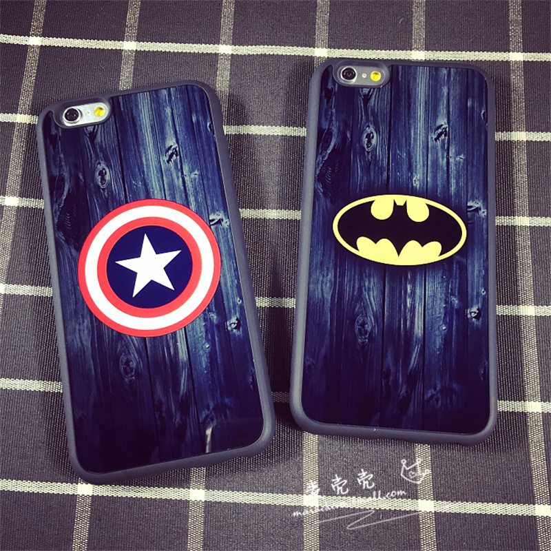 Viagra man captain america batman iphone6 phone shell apple 6 protective shell plus 6 s shell