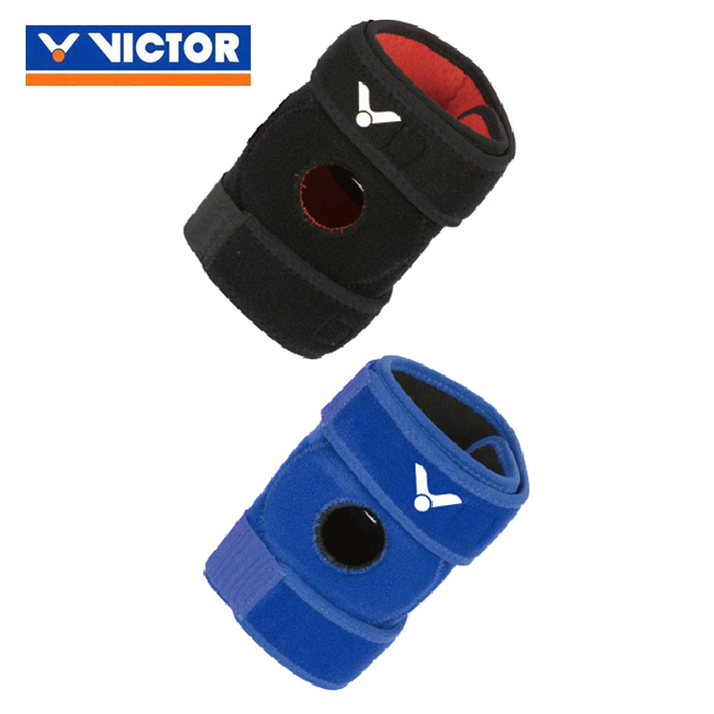 Victor/victor genuine victory badminton kneepad basketball running fitness sports protective gear for men and women