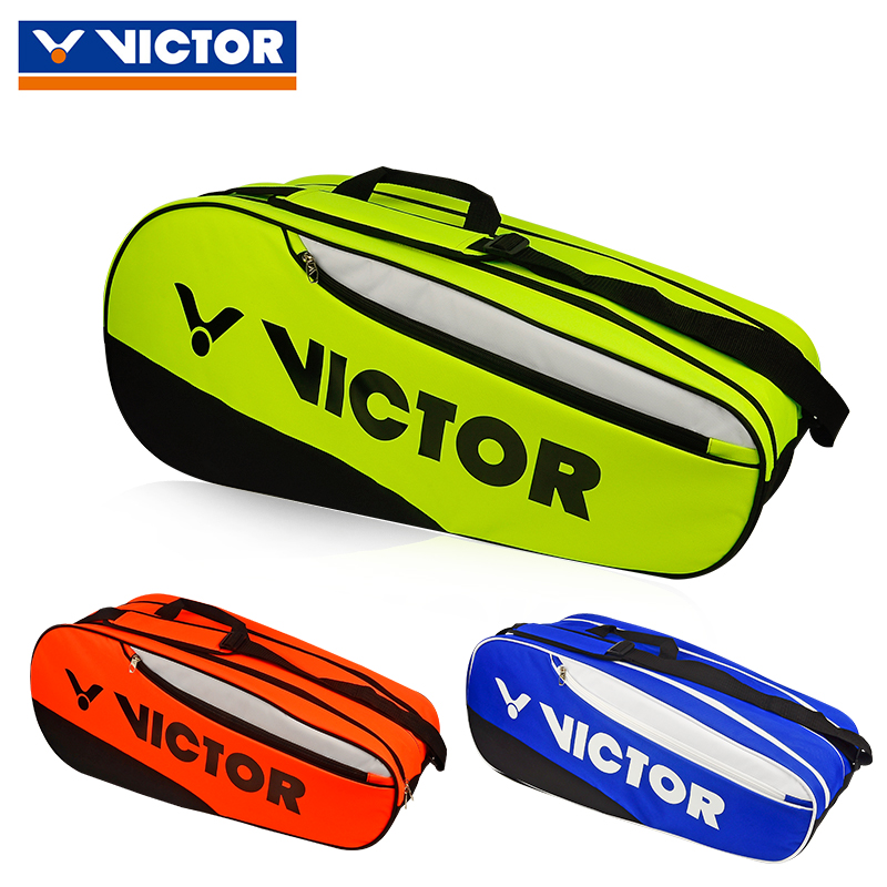 Victor/victor victory badminton genuine shoulder bag backpack male and female models 12 badminton racket bag loaded