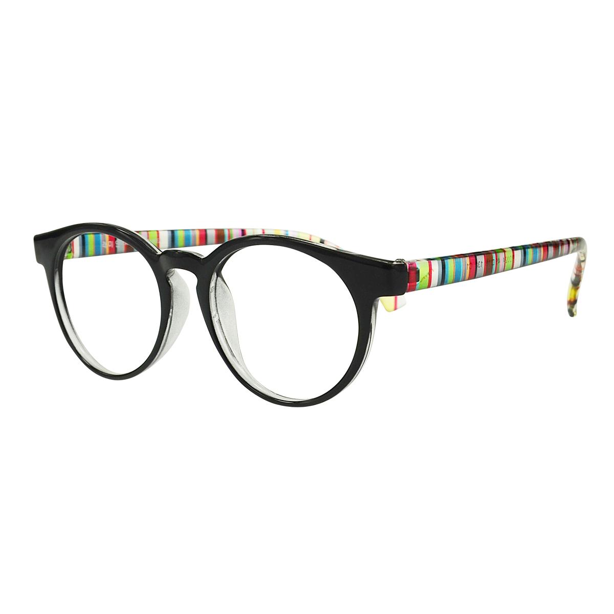 be4c10e1e7 Get Quotations · Visionary authentic korean couple lightweight tr90 frame  myopia glasses men and women retro small round black