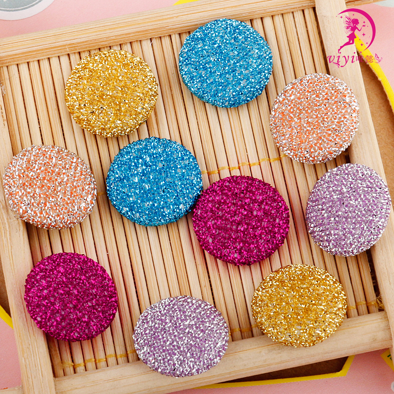 Viyi korean bow hair accessories decorative circular gold onion bag accessories button buttons buttoned handmade diy accessories