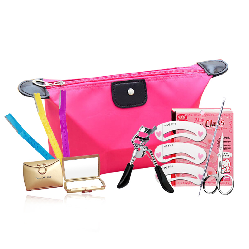 Voce makeup beauty tool kit 7 set free shipping cosmetics makeup tool distribution package
