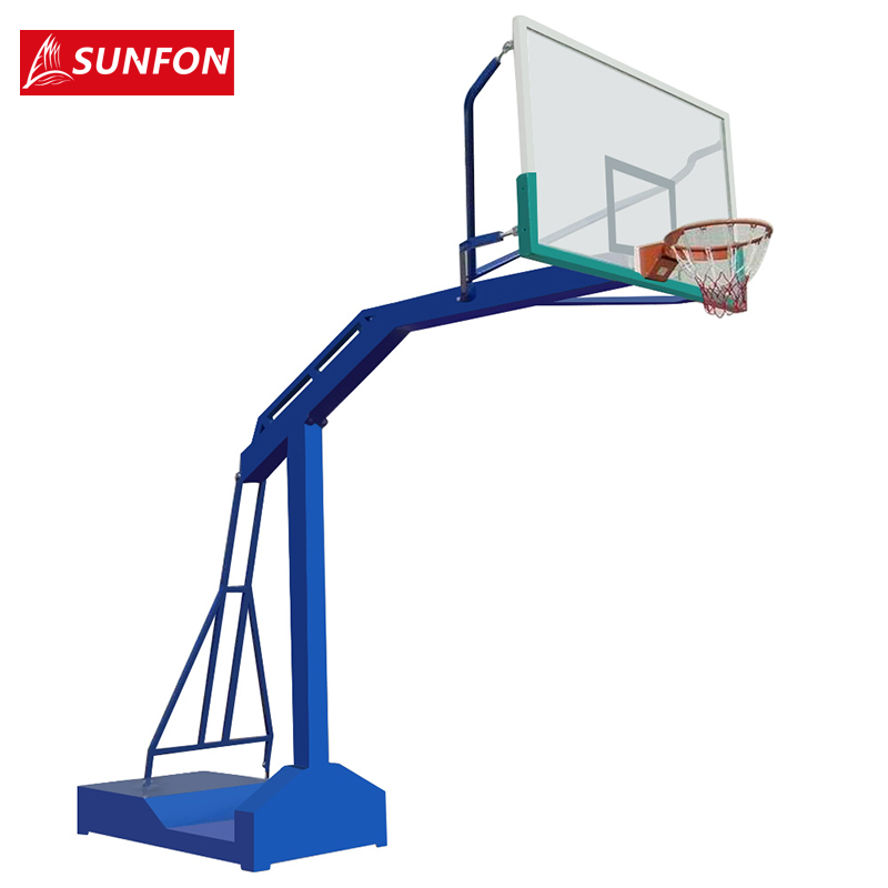 Volcker outdoor basketball outdoor basketball standard adult mobile basketball recessed box game designed with basketball