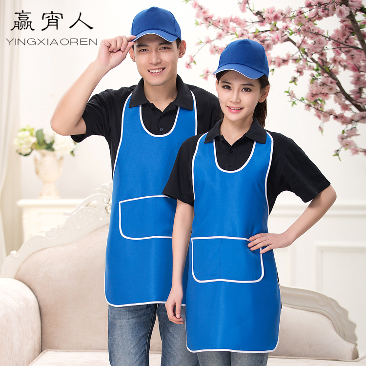 Waiter aprons aprons overalls fashion halter aprons apron supermarket restaurant work apron chef aprons for men and women
