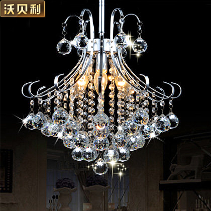 Walbury european crystal lamps hanging lamps lighting the living room bedroom modern minimalist restaurant lamps led pendant lamp