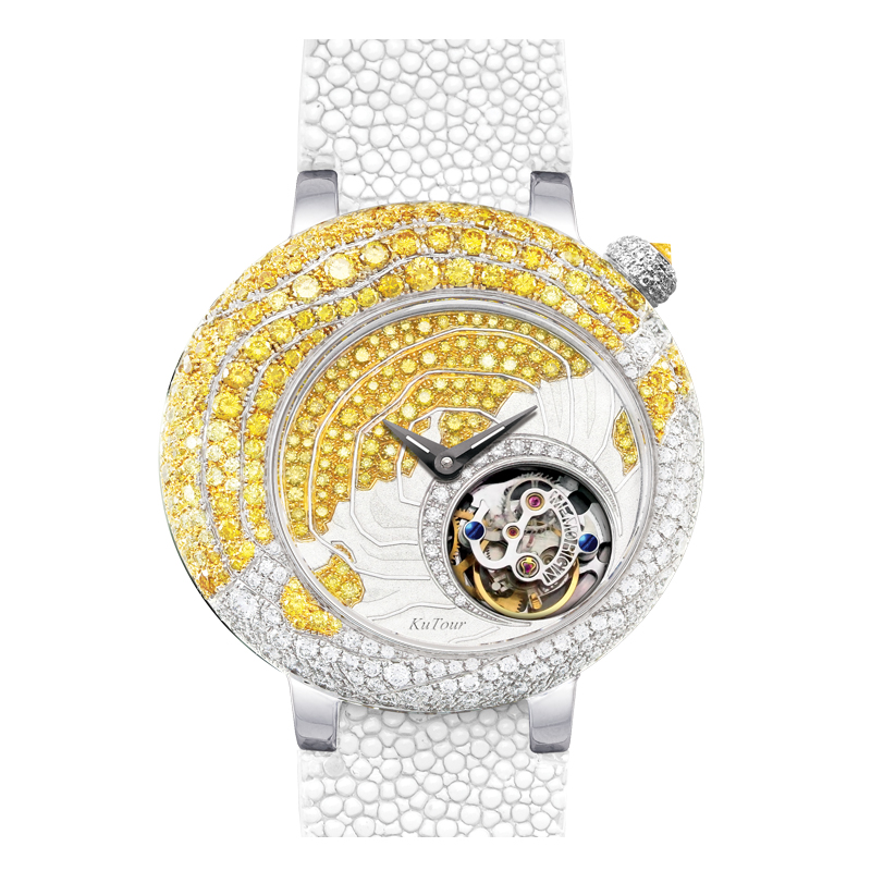 Wan xi quan typhoon series diamond luxury watches tourbillon watch male mechanical watch business ladies watches