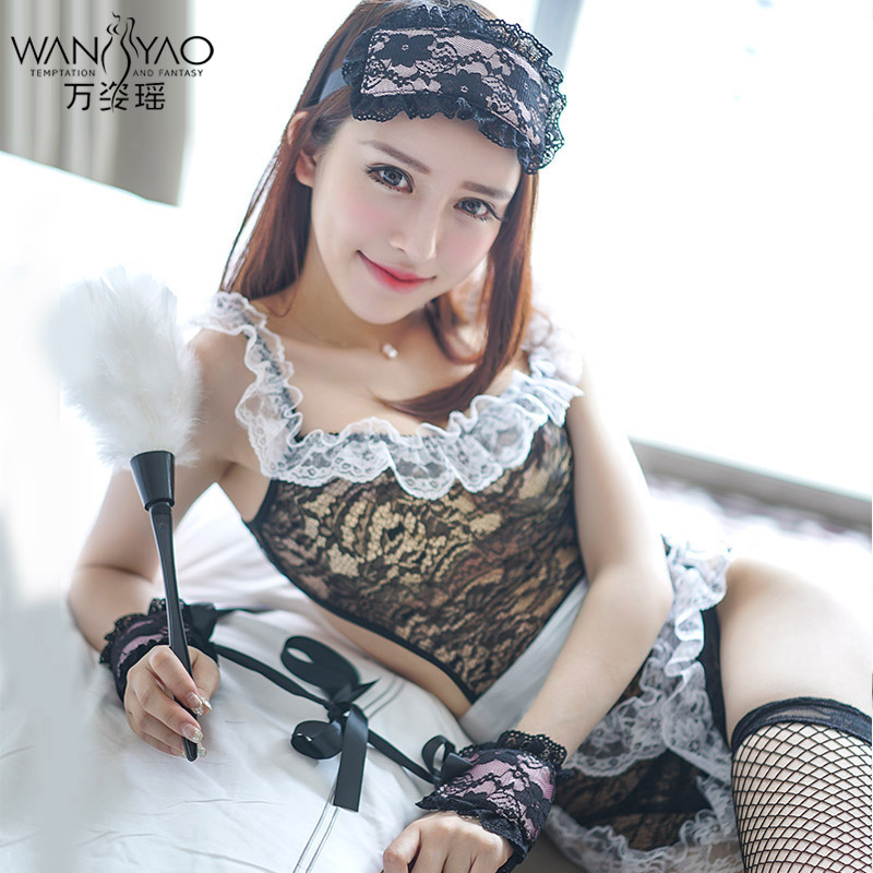 Wan zi yao lutun sexy maid maid outfit sexy lingerie suit uniforms sao contains adult pyjamas
